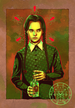 Wednesday Addams by aquiles-soir