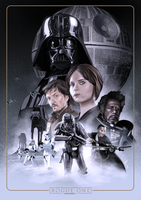 Rogue One: A Star Wars Story by ChristopherOwenArt