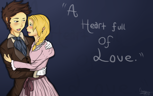 Marius and Cosette by CheshireWolf97