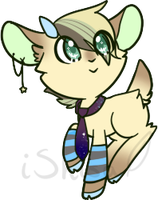 Goat Adoptable 1 - OTA | +closed+ by 14th-Crown
