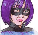 Hit Girl in colour by Neumatic