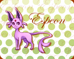 Espeon by Poket-Skitts
