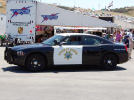 CA Police CHiPs Dodge Hemi by Partywave