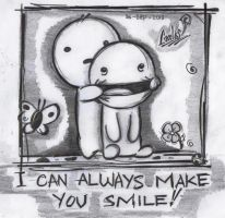 Just Smile by Carlks