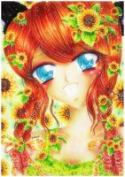 Sunflower Smile by LuchiIsa