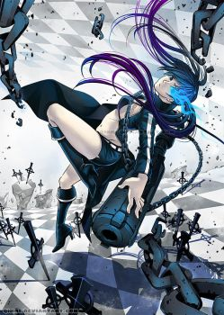 Black Rock Shooter by Qinni