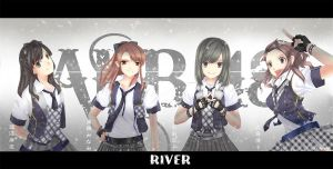 AKB48 River by nequioze