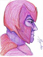 Magneto by DeviantDayDreamer