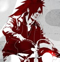 Madara on motorbike by Lesya7
