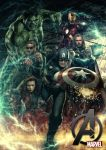 The Avengers by materialboyz