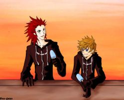 "KH2: ""Salty... But sweet"" by pen-gwyn"