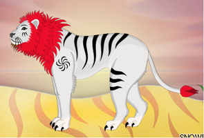 Liger by DCatpuppet