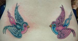 His and Hers Swallows by VanZanto
