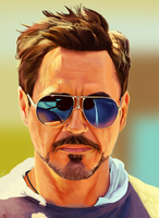 Robert Downey Jr. by Somelarder