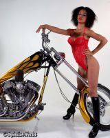 Chopper QT in Red by sydeline