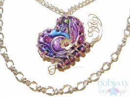 Cloisonne wired butterfly by colourful-blossom