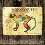 Meat Monkey inside front cover by GiantMosquito
