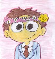 Walter flower crown by Kiwi-Birdie