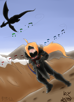 Listen for the Theme by Akask1-chibi