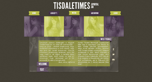 TISDALETIMES layout #2 by dasseritic