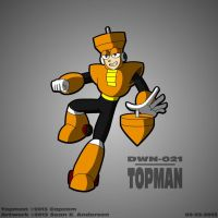 Mega Man 3 - Topman by TheRealSneakers