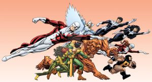 Marvel Universe Alpha Flight by bennyfuentes