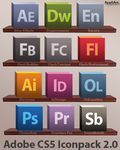 Adobe CS5 - Iconpack 2.0 by AppliArt