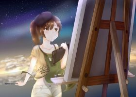 Painting Stars by nelsonsartworks