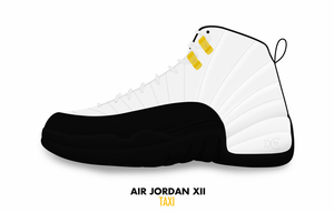 Air Jordan XII 'Taxi' by DCrossover11