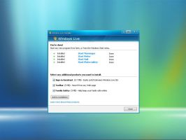 Windows Live Installer by m4s73r