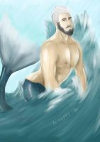 Bearded Mermaid ~ by Miyappi