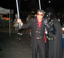 Vader and the king by Darkside0326