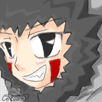 Scary Chibi Kiba by glasskiwi