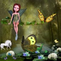 On my favorit fairy place by Creativescrapmom