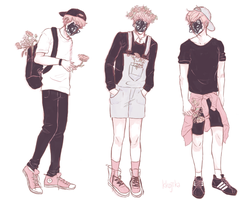 fav boy looks by timidoodle