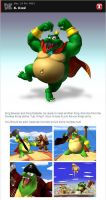 King K. Rool in Smash Bros. Dojo by romisnalo31