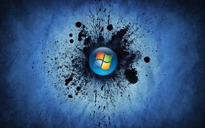 Windows Splat Desktop by MyMomSaysImCool
