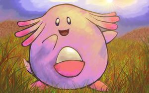 Chansey by Power-Line