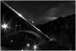 Bridge into the night by Argolith