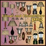 Lamps And Chandeliers by KlaraKay