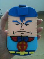 Suppaman Mobile Case by anapeig