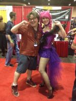 Megacon 2013 - Burlesque Pinkie Pie 7 ft. K.Bolk by kitsune-keitaro