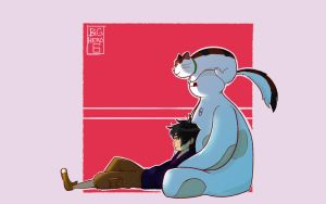 Big Hero 6 - Friends by Markistic
