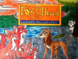 The Fox and the Hound 3 Legend of the Arctic fox by SegaDisneyUniverse