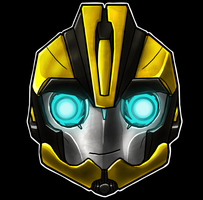 Bumblebee Helm Smile by Laserbot