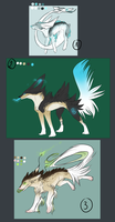 .: Creatures Auction ! CLOSED :. by Eredhys