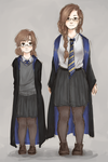 harry potter oc thing by TheAngelCookie