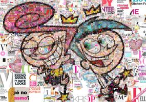 The Fairly OddParents Mosaic by Cornejo-Sanchez
