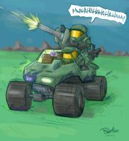 Halo you fool I love you... by evilchibiminion