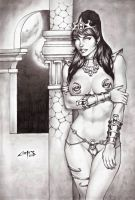 DEJAH THORIS !!! by carlosbragaART80